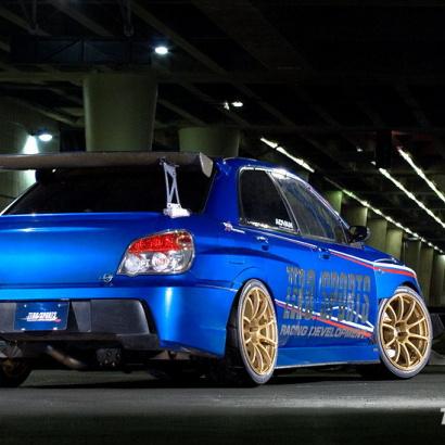 Задний бампер - Обвес на Subaru Impreza WRX GD