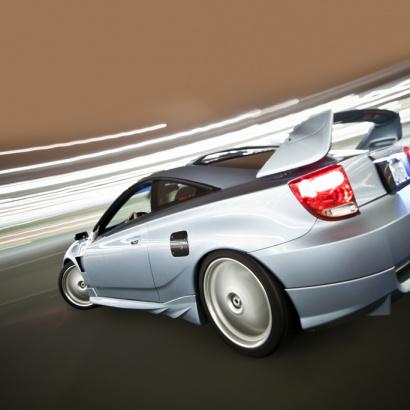 Задняя юбка - Обвес на Toyota Celica T23