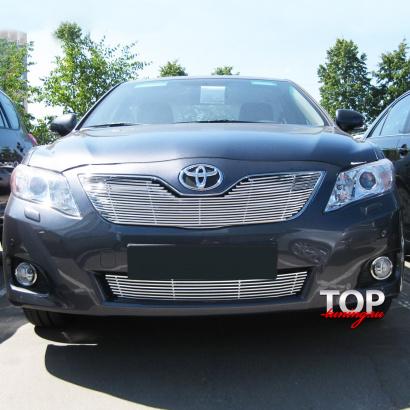 Декоративные решетки на Toyota Camry V40 (6)