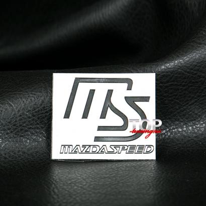 Наклейка - эмблема MazdaSpeed 54 x 44 на Mazda