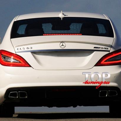 Лип-спойлер на Mercedes CLS W218