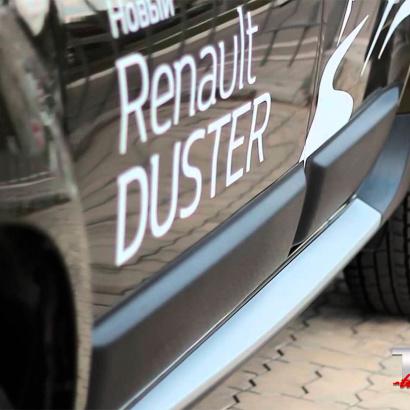 Молдинги на двери на Renault Duster 1