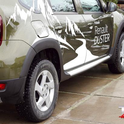 Расширители арок на Renault Duster 1