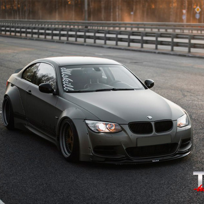 Комплект расширения на BMW 3 E92