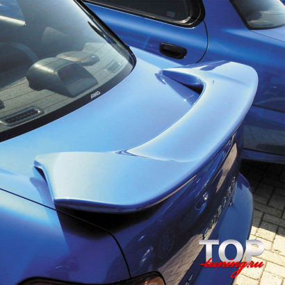 Спойлер на крышку багажника на Subaru Impreza 2
