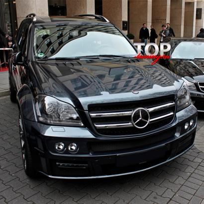 Аэродинамический обвес на Mercedes GL-Class X164