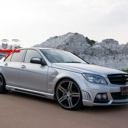 Комплект - обвес WALD на Mercedes C-Class W204