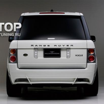 Накладка на задний бампер - обвес на Land Rover Range Rover Vogue 3