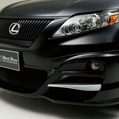 Накладка на передний бампер - обвес на Lexus RX  3