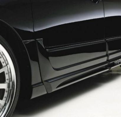6 накладок на двери с порогами - обвес на Lexus RX  3