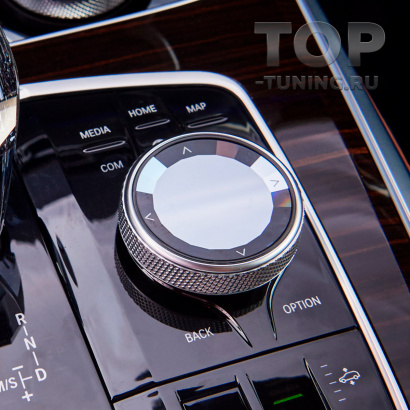 Хрустальная консоль iDRIVE для BMW 8 / X5 / X6 / X7