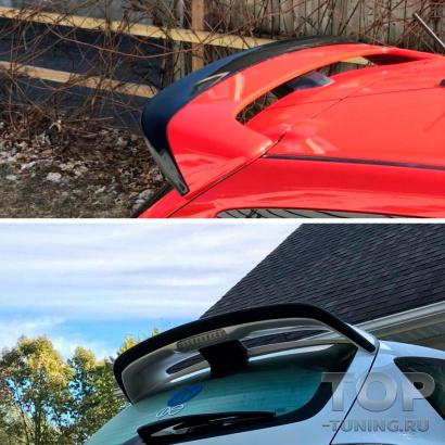Накладка Ducktail на спойлер для Mazda 3 BK