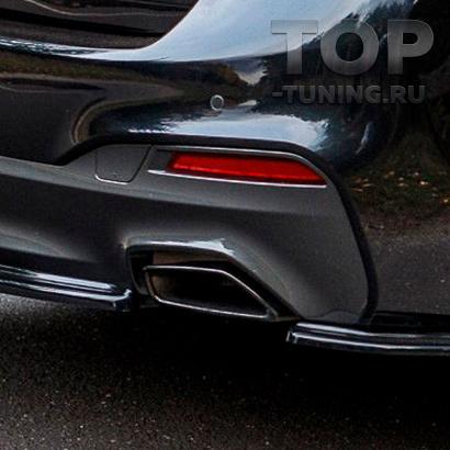 Оригинальные черные насадки для BMW G30 / G31 / G32 GT / G11 LCI