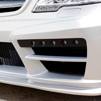 Модули для ДХО в бампер WALD Black Bison для Mercedes Viano W639