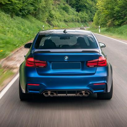 Задний бампер M3 Look для BMW 3 F30