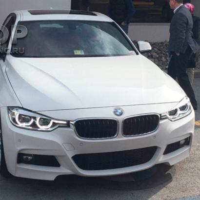 Передний бампер M-Tech для BMW 3 F30