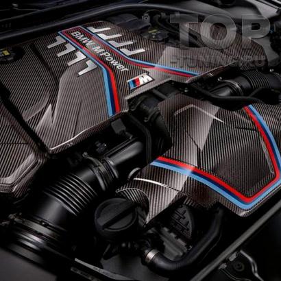 Карбоновые кожухи двигателя M Performance для M5 M8