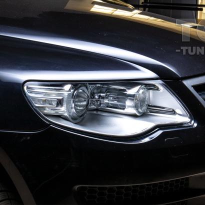 Стекла фар Volkswagen Touareg 2007 - 2010