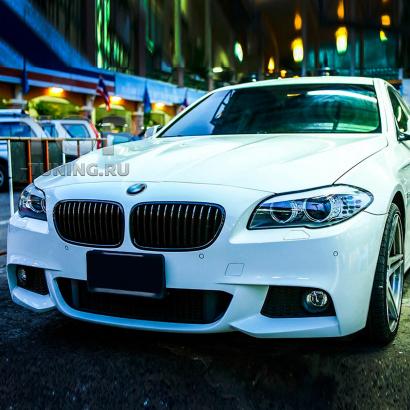 Передний бампер M Tech для BMW 5 F10