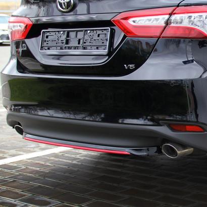 Центральная накладка Consul S-Edition для Toyota Camry XV70