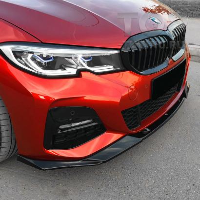 Юбка Liberty на передний бампер BMW 3 G20