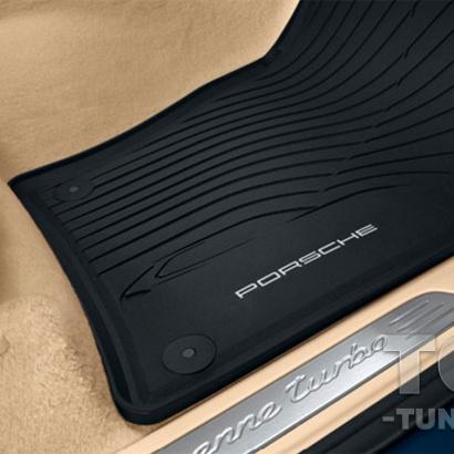 Резиновые коврики Porsche Cayenne E3