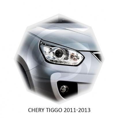 Реснички для Chery Tiggo T11 (рест)