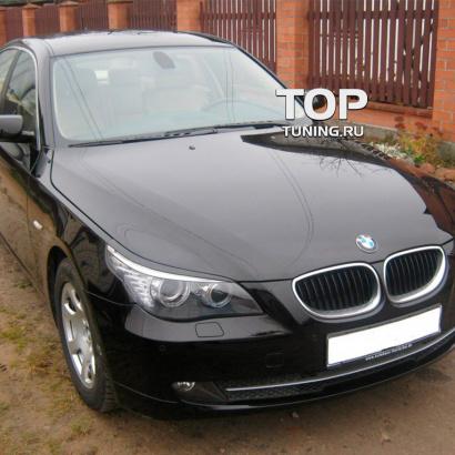 Реснички - накладки на фары на BMW 5 E60, E61, M5