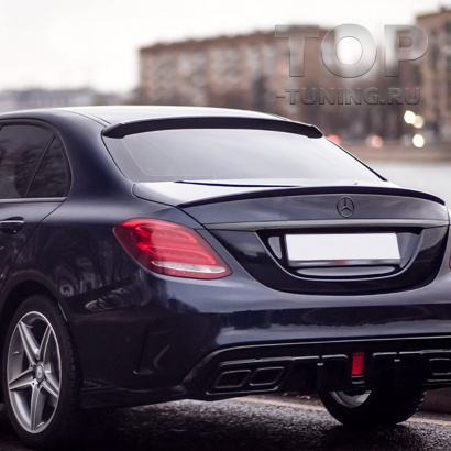 Верхний спойлер Renegade на крышку багажника для Mercedes C-Class W205