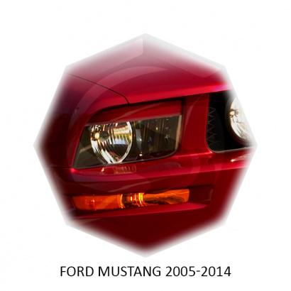 Реснички для Ford Mustang 5 (дорест)