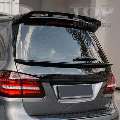 Спойлер нижний Renegade для Mercedes GL X166