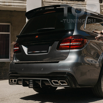 Диффузор Renegade заднего бампера Mercedes GLS X166