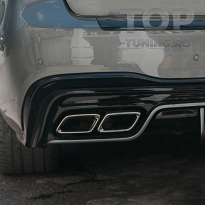 Насадки на выхлопную систему GLS 63 AMG для Mercedes GLS X166