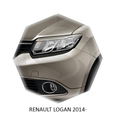 Реснички Sport Line для Renault Logan 2
