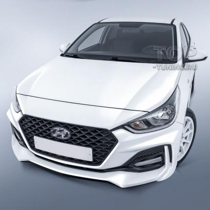 Обвес Stinger для Hyundai Solaris 2
