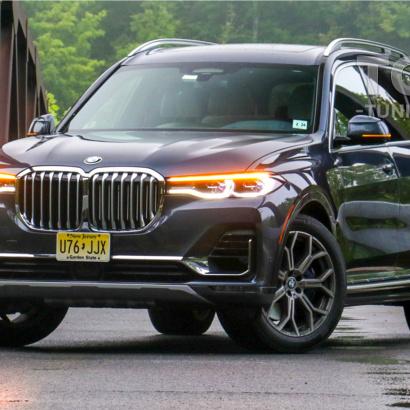 Выдвижные пороги-ступени RRS для BMW X7 G07