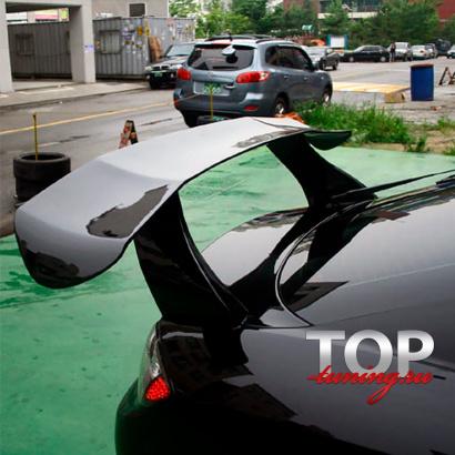 Спойлер - антикрыло на Hyundai Tiburon Coupe GK