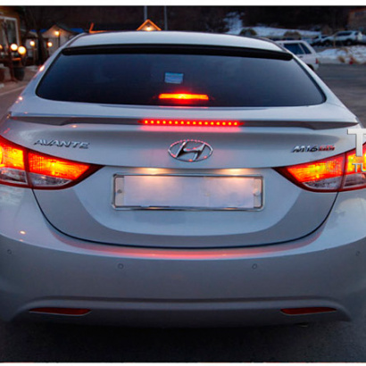 Спойлер крышки багажника на Hyundai Elantra 5 (Avante MD)