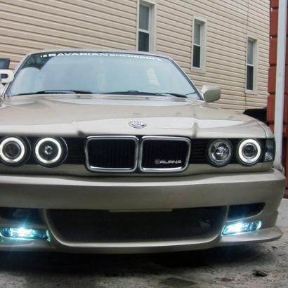 Передний бампер - Обвес на BMW 7 E32
