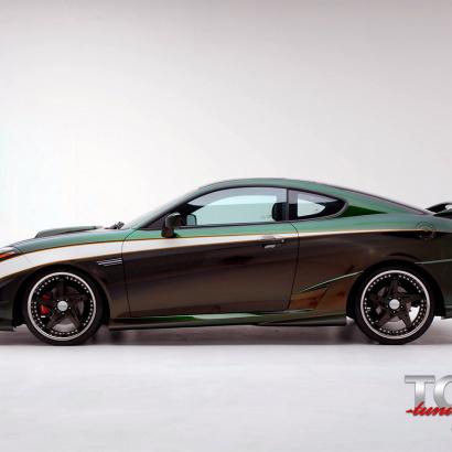 Накладки на пороги - Обвес Tomato на Hyundai Tiburon Coupe GK