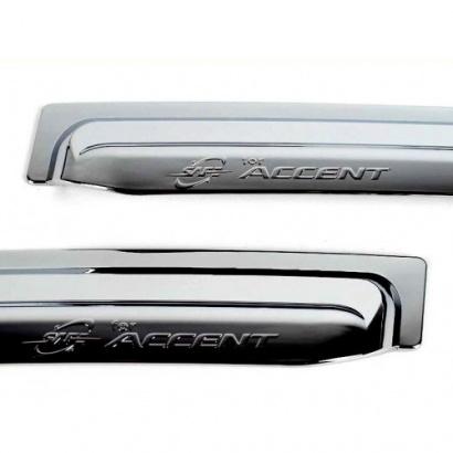 Дефлекторы на Hyundai Solaris