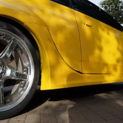 Накладки на задние крылья - обвес на Toyota Celica T23