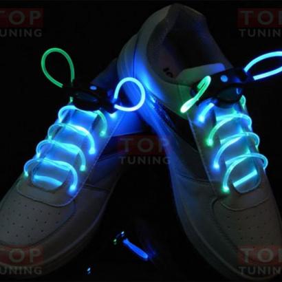 Неоновые, светящиеся шнурки  на Универсальные