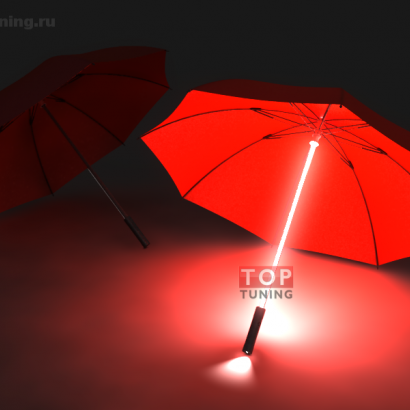 Светящийся зонт с фонариком и подсветкой на Универсальные