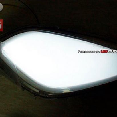 Светодиодные модули в ПТФ на Hyundai Elantra 5 (Avante MD)