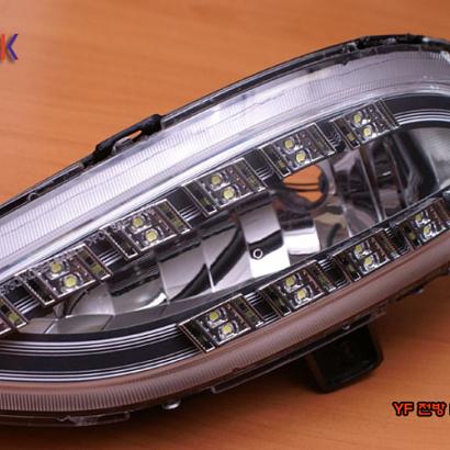 Светодиодные модули дневных ходовых огней на Hyundai Sonata 6 (YF)