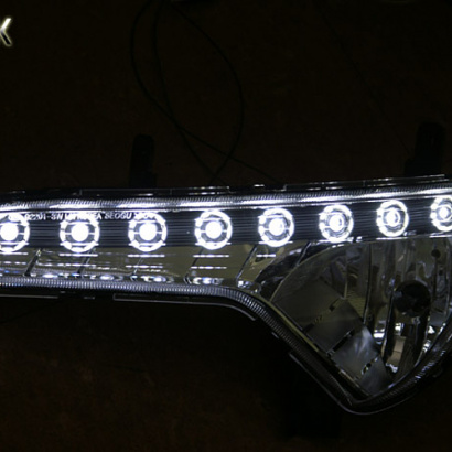 Светодиодные ходовые огни  на Kia Sportage 3 (III)