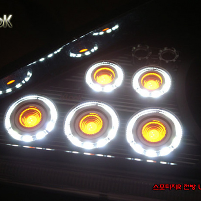 Светодиодные модули передних поворотников на Kia Sportage 3 (III)