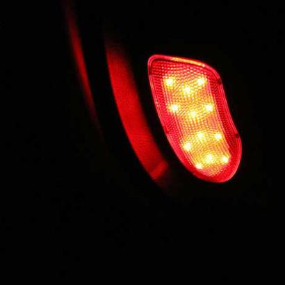 Светодиодные модули подсветки дверей на Hyundai Sonata 6 (YF)