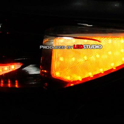 Светодиодные реснички на Kia Sportage 3 (III)